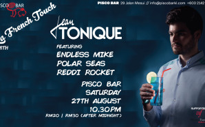 Jean Tonique – Saturday 27th August