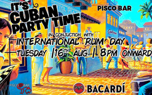 PISCO // Cuban Party Time – International Rum Day //…