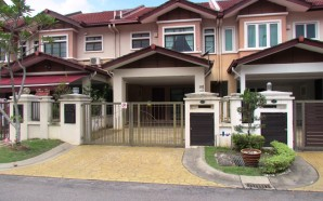 2-storey link house at Tropicana Golf & Country Resort