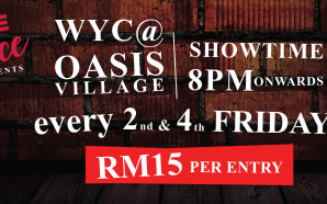 Comedy At The Oasis – every 2nd and 4th Friday…