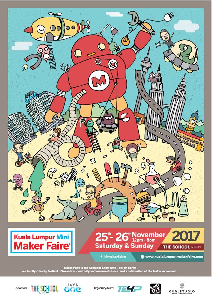 kl mini maker faire poster