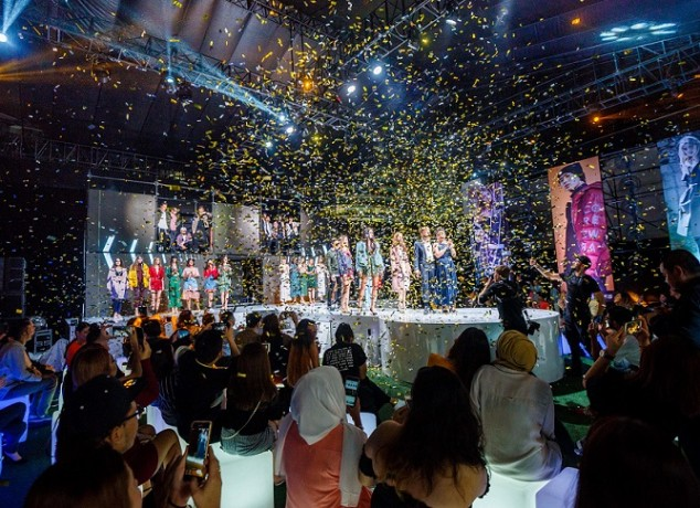 The eye-catching launch of bestseller fashion brand Malaysia