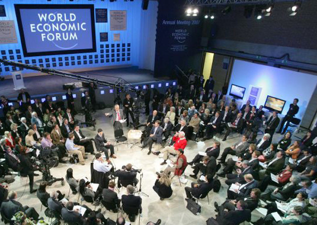 DAVOS/SWITZERLAND, 26JAN07 - Impression captured during the session 'BBC World Debate: Climate Change' at the Annual Meeting 2007 of the World Economic Forum in Davos, Switzerland, January 26, 2007.  Copyright by World Economic Forum    swiss-image.ch/Photo by E.T. Studhalter  +++No resale, no archive+++