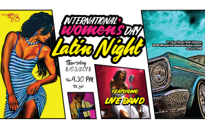 Latin Party for International Women's Day