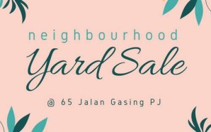 Neighbourhood Yard Sale