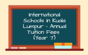 Schools in Kuala Lumpur with Annual Tuition Fees below RM30,000…