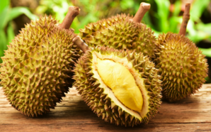 American woman is in search of the best durian ever