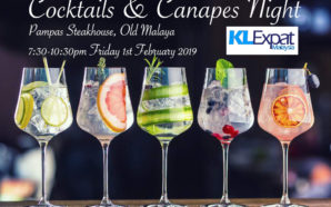 Cocktail and Canapés Night at Pampas Steakhouse Old Malaya