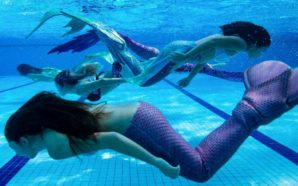 Making a splash at Malaysia's mermaid school