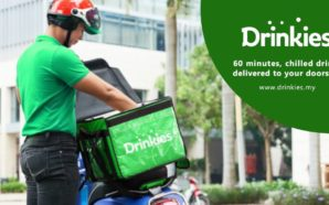 Get cold drinks sent right to your doorstep in 60…