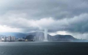 Waterspout spotted in Penang, whips up big wave and sends…