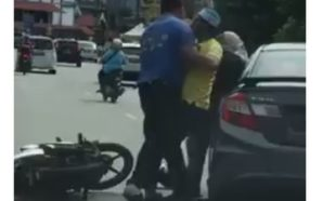 Malaysian cops looking for man who slapped, punched woman in…