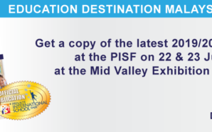 Get a copy of the Education Destination Malaysia 2019/20 at…