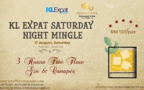 KL Expat Saturday Night Mingle, 3 Hours Free Flow Gin…